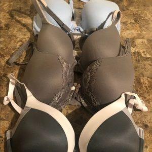 Lot Of 4 Victoria's Secret VS Bra Size 32DD